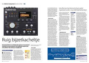 interface.nl Elektron Analog Heat distortion en filter