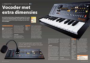 interface.nl Roland VP-03 vocoder/string synthesizer/sequencer