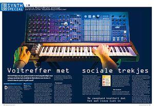 interface.nl Arturia MatrixBrute analoge parafonische keyboardsynthesizer