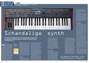 interface.nl Behringer DeepMind 12 analoge keyboardsynthesizer