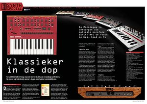 interface.nl Korg Monologue analoge monofone keyboardsynthesizer