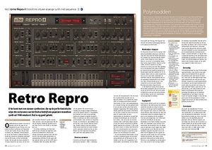 interface.nl U-he Repro-1 monofone virtueel-analoge synth met sequencer