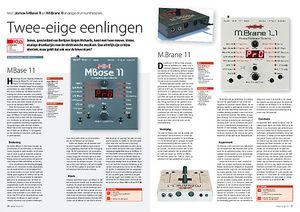 interface.nl Jomox MBase 11 en M.Brane 11 analoge drumsynthesizers