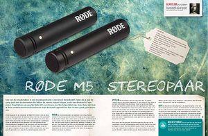 musicmaker.nl Røde M5-microfoons