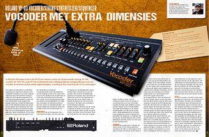 musicmaker.nl Roland VP-03 Vocoder, String Synthesizer en Sequencer