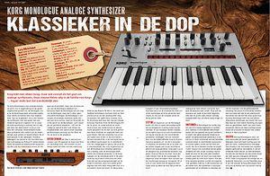 musicmaker.nl Korg Monologue
