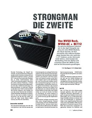 Gitarre & Bass Vox MV50 Rock/AC + BC112
