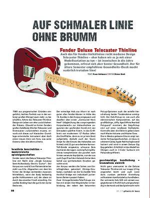 Gitarre & Bass Fender Deluxe Telecaster Thinline