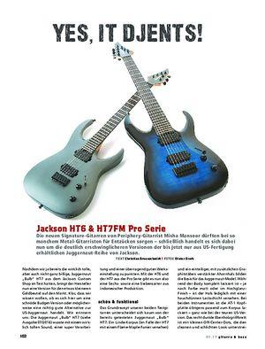 Gitarre & Bass Jackson HT6 & HT7FM Pro Serie