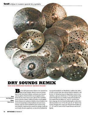 Sticks Zildjian K Custom Special Dry Cymbals