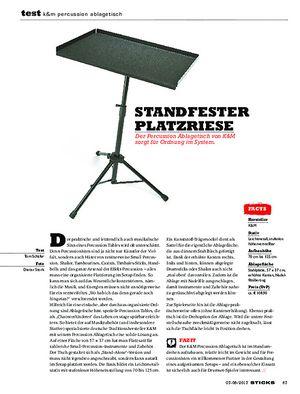 Sticks K&M Percussion Ablagetisch