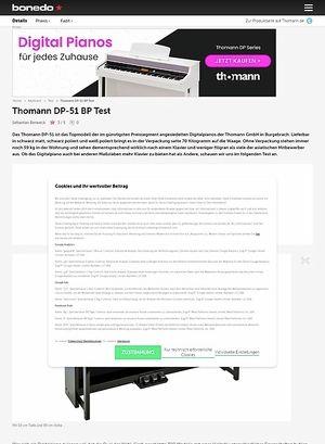 Bonedo.de Thomann DP-51 BP