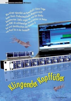 Professional Audio Klingender Kopffüßer