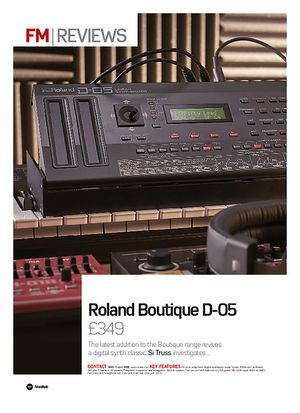 Future Music Roland Boutique D-05
