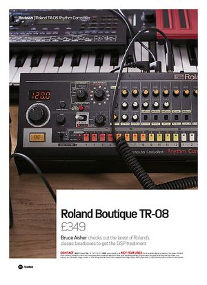 Future Music Roland Boutique TR-08