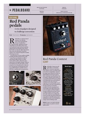 Guitarist Red Panda Particle