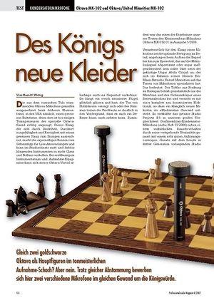 Professional Audio Des Königs neue Kleider: Oktava MK-102
