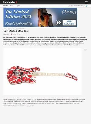 Bonedo.de EVH Striped 5150