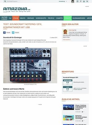 Amazona.de Soundcraft Notepad-12FX