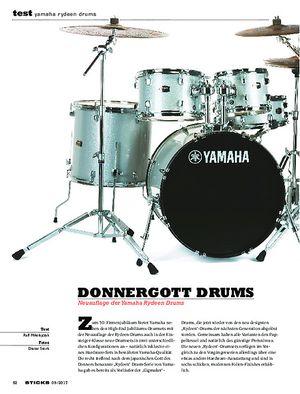 Sticks Yamaha Rydeen Drums
