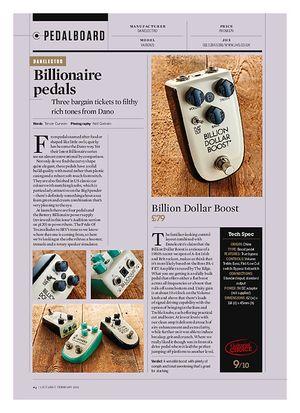 Guitarist Billion Dollar Boost