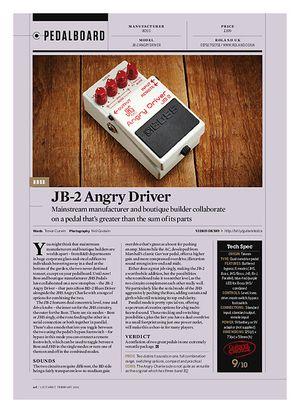 Guitarist JB-2 Angry driver