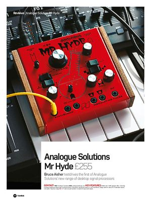 Future Music Analogue Solutions Mr Hyde