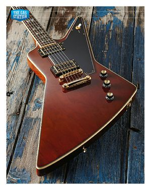 Total Guitar Epiphone LTD Ed Lee Malia Explorer Custom Artisan