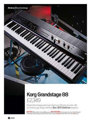 Future Music  Korg Grandstage 88