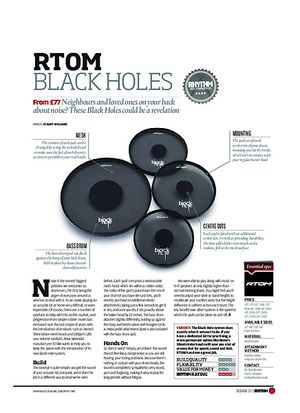 Rhythm RTOM Black Holes