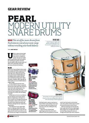 Rhythm Pearl Modern Utility Snare Drums