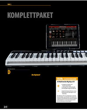 Professional Audio IK Multimedia iRig Keys I/O