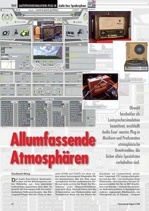 Professional Audio Allumfassende Atmosphären Audio Ease Speakerphone