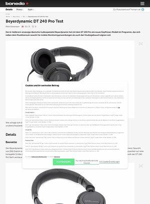 Bonedo.de Beyerdynamic DT 240 Pro