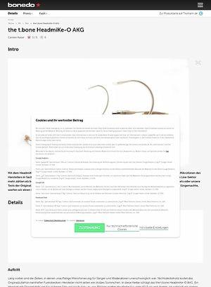 Bonedo.de the t.bone HeadmiKe-O AKG