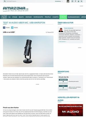 Amazona.de M-Audio Uber Mic