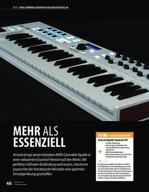 Professional Audio Arturia Keylab Essential 49
