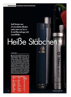 Professional Audio Heiße Stäbchen: Kleinmembran Kondensator Mikrofone
