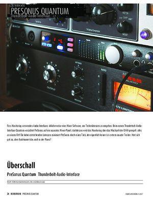 Sound & Recording Presonus Quantum