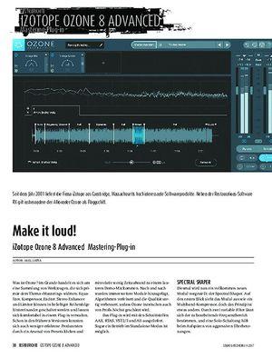 Sound & Recording iZotope Ozone 8 Advanced