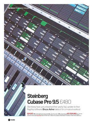 Future Music Steinberg Cubase Pro 9.5
