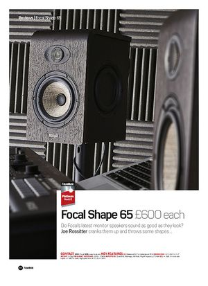Future Music Focal Shape 65
