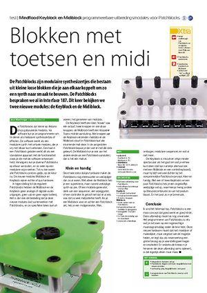 interface.nl Mindflood Keyblock en Midiblock