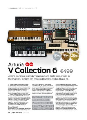 Computer Music Arturia V Collection 6