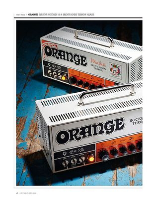 Guitarist Orange Terror Rocker 15 Head