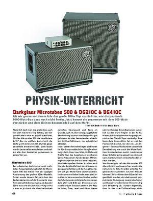 Gitarre & Bass Darkglass Microtubes 500 & DG210C & DG410C