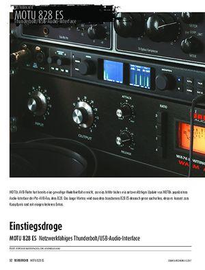 Sound & Recording MOTU 828 ES