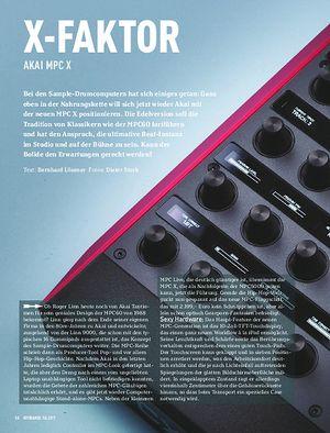 Keyboards AKAI MPC X