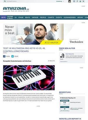 Amazona.de IK Multimedia iRig Keys I/O 25, 49