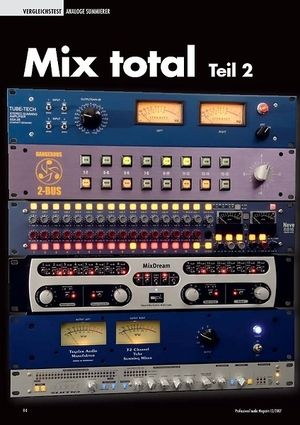 Professional Audio Mix total Teil 2: Analoge Summierer